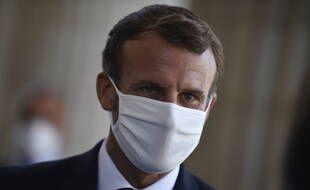 Emmanuel Macron, le 5 septembre 2020