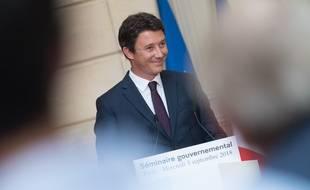 Benjamin Griveaux lors du séminaire gouvernemental organisé début septembre à l'Elysée.