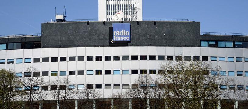 Le siège de Radio France (Paris XVIe), en avril 2015.