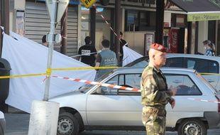 Le 15 mars 2012, à quelques mètres de l'entrée du 17e RGP, deux militaires sont tués par Mohamed Merah et un grièvement blessé.