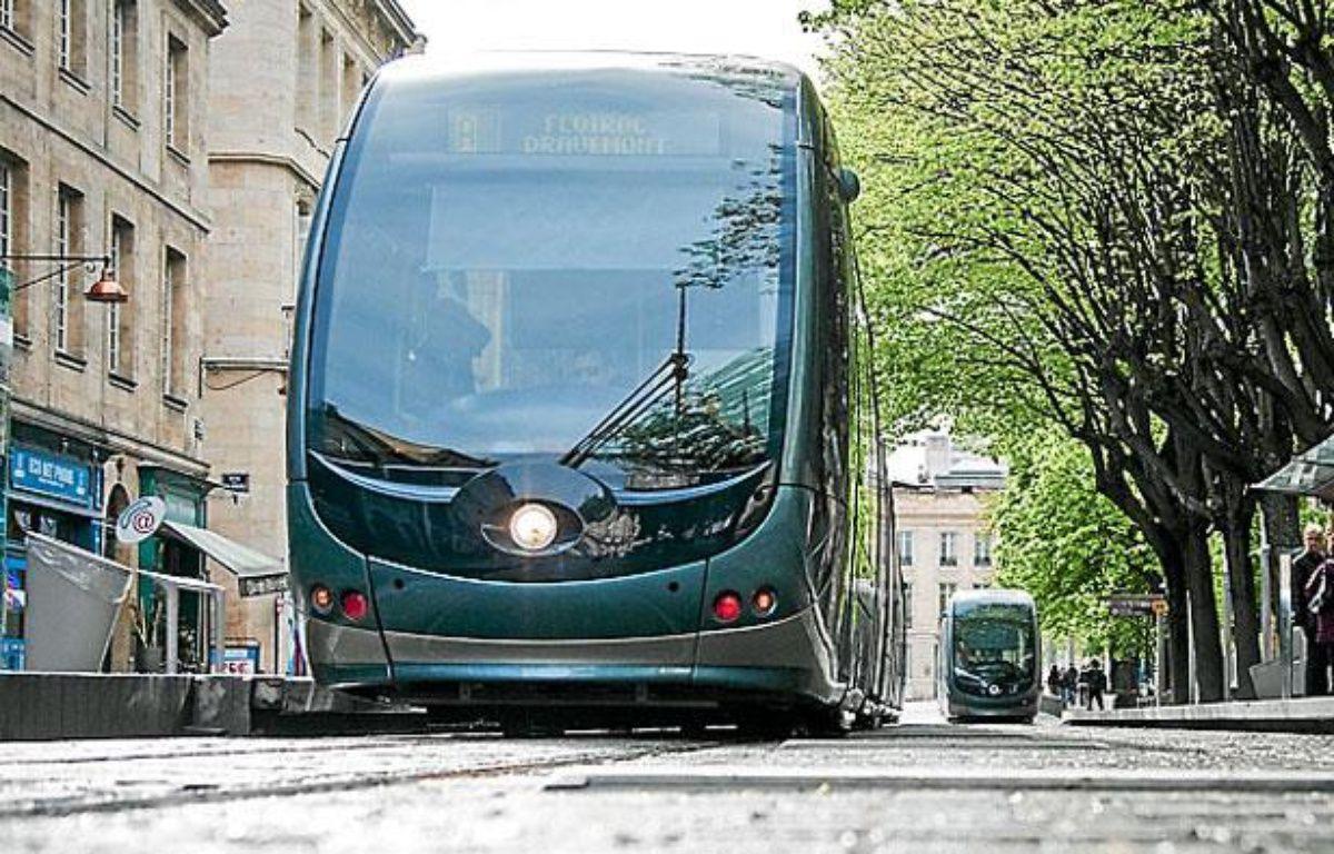 Tramway à Bordeaux – S.ORTOLA/20MINUTES