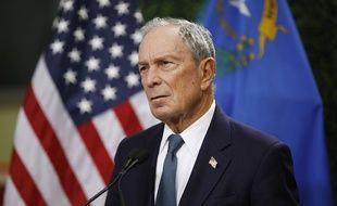 L'ancien maire de New York Michael Bloomberg, le 26 février 2019 à Las Vegas.