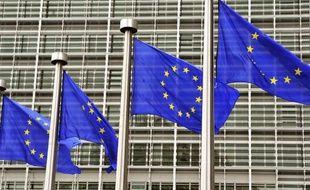 L'entrée de la Commission européenne à Bruxelles
