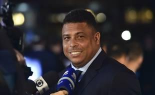 Ronaldo lors de la cérémonie de récompenses annuelle de la Fifa, le 23 octobre 2017 à Londres.