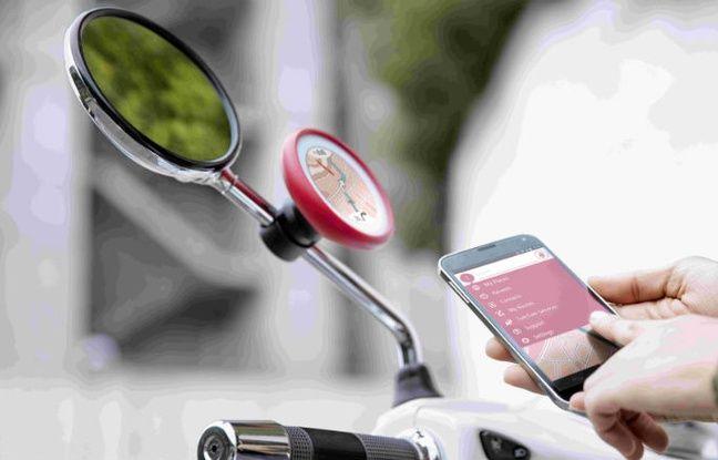 Dédié aux scooters, le GPS Vio de TomTom fait également office de kit mains libres.