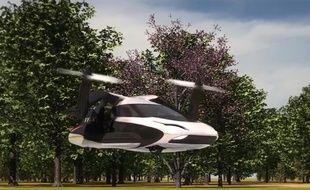 La voiture volante TF-X
