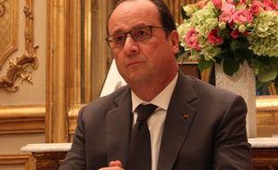 Interview de François Hollande à l'Elysée, le 25 novembre 2015.