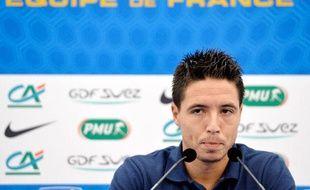 Samir Nasri entend disputer la Coupe du monde 2014 avec l'équipe de France.