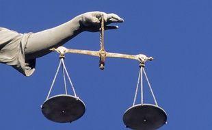 La balance de Thémis, symbole de la Justice. (Illustration)