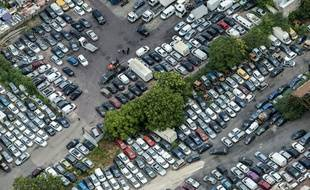 Un parc automobile