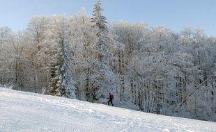 La station de ski du Champ du Feu. Le 16 12 2007