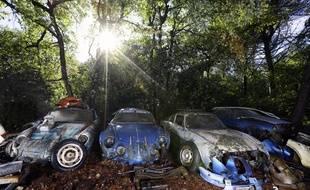 Parmi les joyaux de la collections, plusieurs Alpine dont une A210 qui a participé trois fois (et remporté une fois) aux 24 heures du Mans.