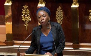 La députée LFI Danièle Obono à l'Assemblée nationale, le 3 octobre 2017.