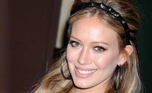 Hilary Duff à une séance de dédicace de son livre «Devoted» à New York, en octobre 2011.