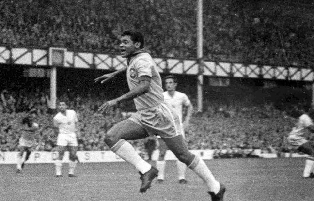 L'ancien ailier droit brésilien, ici lors de la Coupe du monde 1966 en Angleterre.