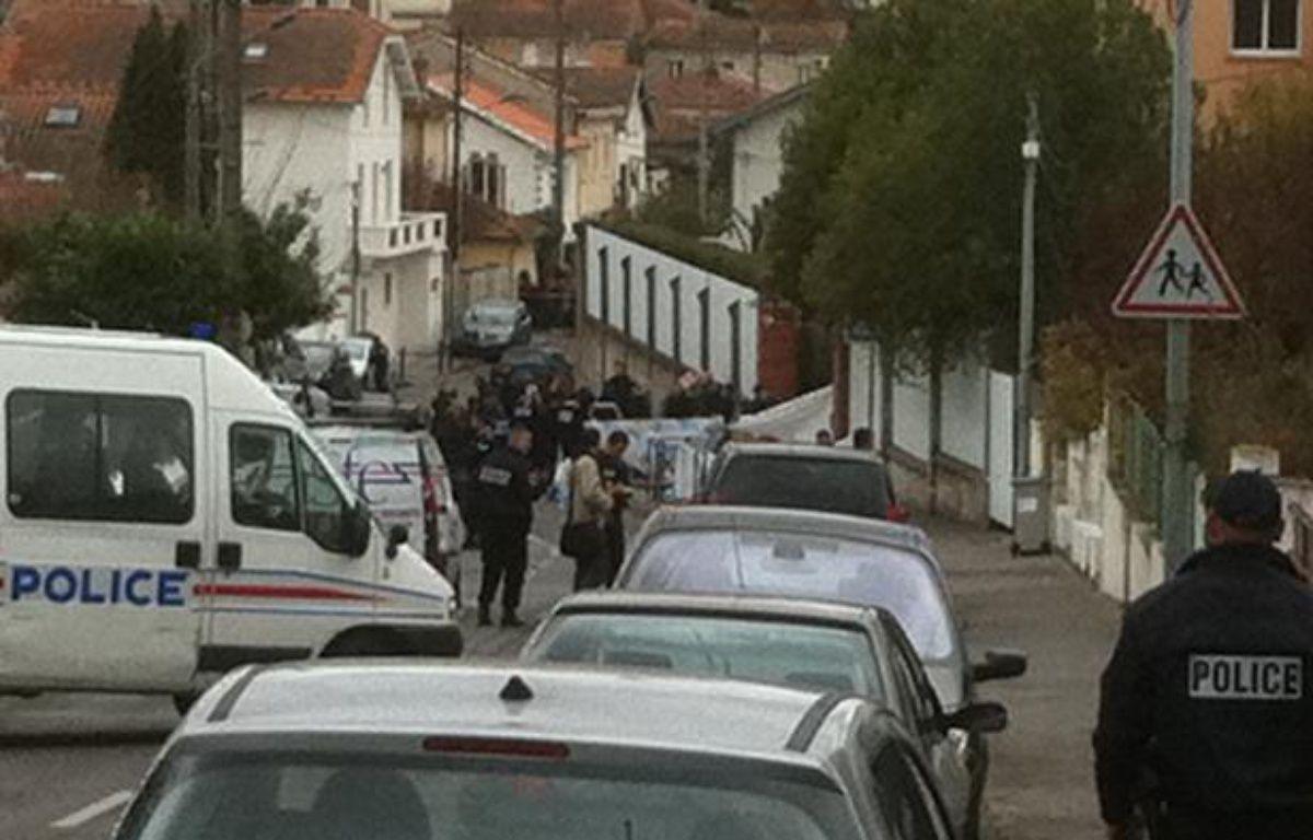 Une fusillade a éclaté devant un collège juif, le 19 mars à Toulouse.  – Frédéric Scheiber / 20 Minutes