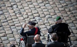 Yves de Daruvar (à gauche), est décédé lundi 28 mai 2018 à l'âge de 97 ans.