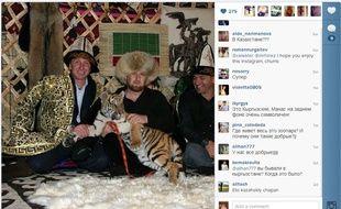 Ramzan Kadyrov avait l'habitude de poster de nombreuses photos de lui sur Instagram et Facebook.