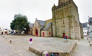 L'église Notre-Dame de Larmor-Plage, dans le Morbihan.