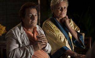 Christiant Clavier et Muriel Robin dans On ne choisit pas sa famille