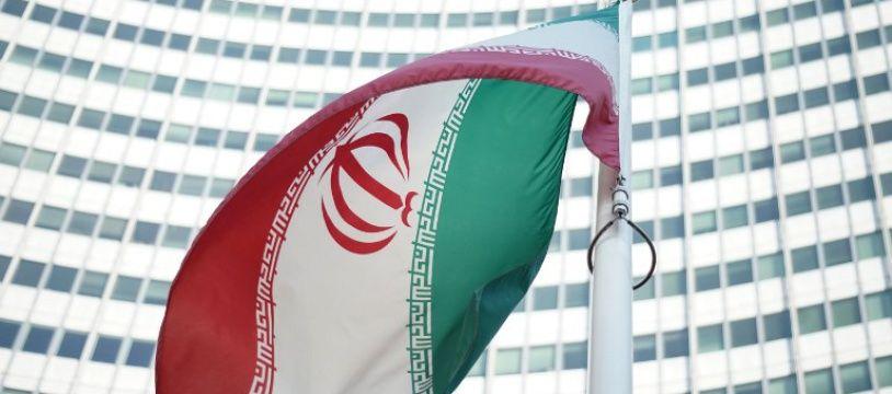 Un drapeau iranien (illustration)