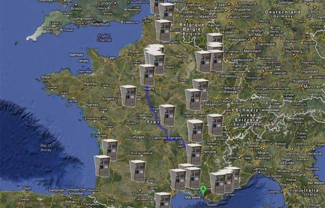carte des radars colmar