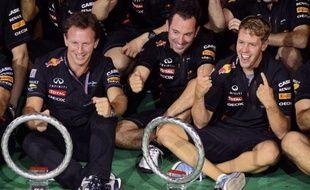 Red Bull a remporté au GP de Singapour sa 4e victoire de la saison, dont deux pour Sebastian Vettel et deux pour Mark Webber, contre cinq victoires pour McLaren, alors que Ferrari est encore monté sur le podium et que Lotus a encore marqué des points: le baromètre, équipe par équipe.
