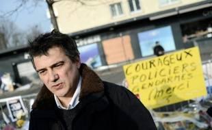 L'urgentiste et ancien collaborateur de Charlie Hebdo Patrick Pelloux, le 23 janvier 2015 à Paris