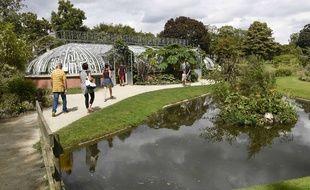Le Jardin des plantes à Nantes (illustration).