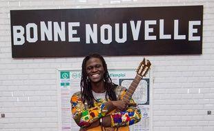 L'artiste Lidiop jouera avec quatre autres musiciens du métro sur la scène de l'Olympia.