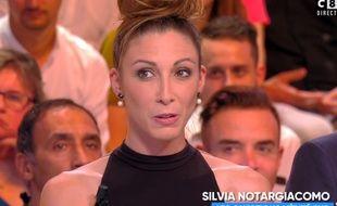 Silvia Notargiacomo était l'invitée de TPMP lundi 16 octobre.