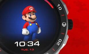 Une montre Super Mario bientôt en vente
