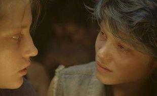 Léa Seydoux (à droite) dans La Vie d'Adèle, d'Abellatif Kéchiche