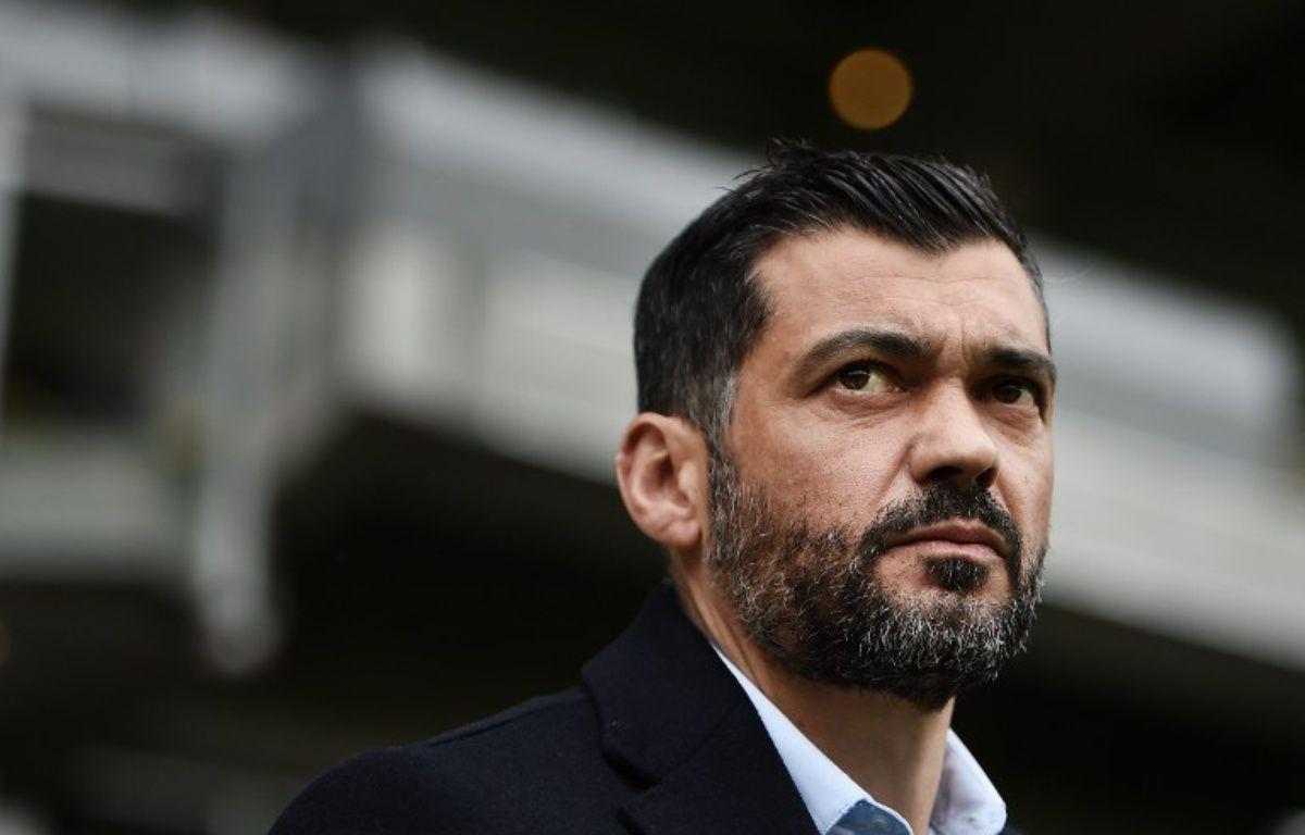L'entraîneur nantais Sergio Conceição. – JEAN-SEBASTIEN EVRARD / AFP