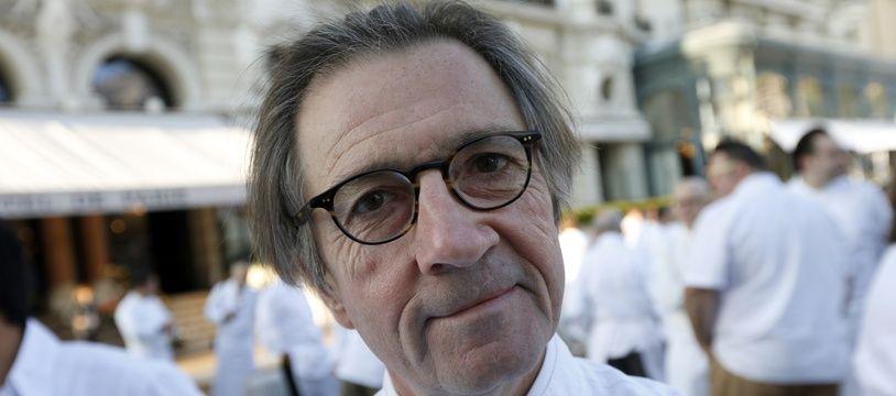 Le chef cuisinier breton Olivier Roellinger, ici photographié en 2012.