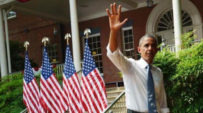 Le président américain Barack Obama a dévoilé mardi une vaste initiative pour combattre le réchauffement climatique, promettant de s'attaquer aux émissions de gaz à effet de serre produites par les centrales au charbon. – Mandel Ngan AFP