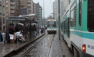 Un frotteur du tramway a été interpellé à La Courneuve (Illustration)