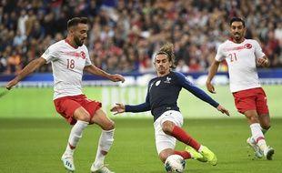 Griezmann contre la Turquie au Stade de France.