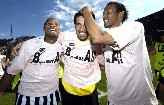 Boumsong, Buffon et Zebina fêtent la remontée en Serie A