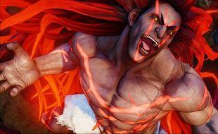 Necalli, un personnage de Street Fighter V.