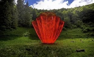 Le Réveil, c'est le nom de l'œuvre monumentale de Pier Fabre, présentée en 2011 au festival Horizons Arts Nature.