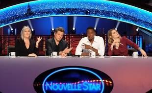 Les jurés de «Nouvelle Star»: Nathalie Noennec, Benjamin Biolay, Dany Synthé et Coeur de Pirate.