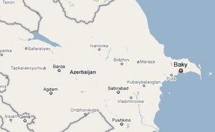 Fusillade dans une université à Bakou en Azerbaïdjan le 30 avril 2009