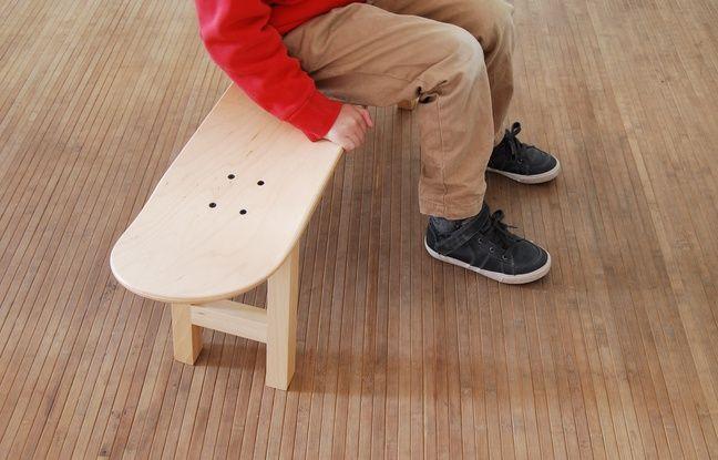 comment le skate est devenu un accessoire d co. Black Bedroom Furniture Sets. Home Design Ideas