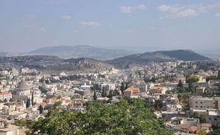 Vue de Nazareth, en Israël (illustration).
