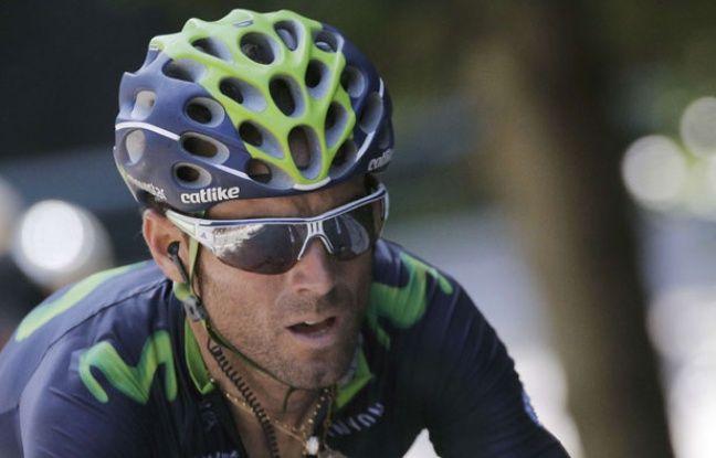 Alejandro Valverde, ici sur le Tour de France 2014, a remporté la Clasica San Sebastian le 2 août 2014.