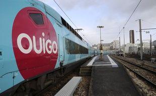 Des trains Ouigo, il n'en circule plus un seul désormais. (illustration)
