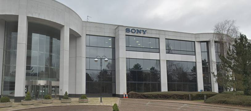 Le siège de Sony à Weybridge (Grande-Bretagne).