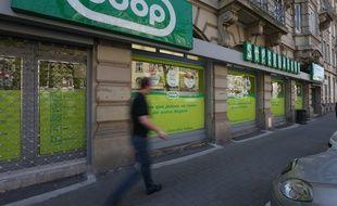 Le magasin Coop à Strasbourg (illustration)