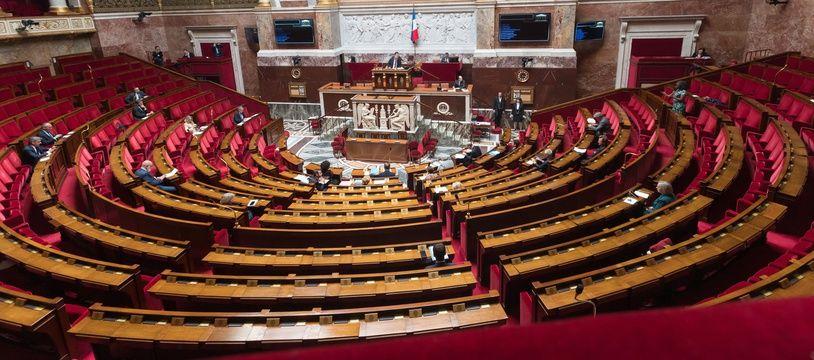 L'Assemblée nationale, le 21 avril 2020.